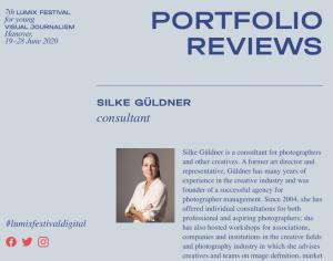 Portfolio Review mit Silke Güldner