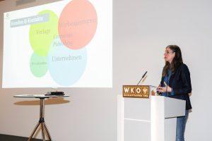 Vortrag von Silke Güldner in der Wirtschaftskammer Tirol