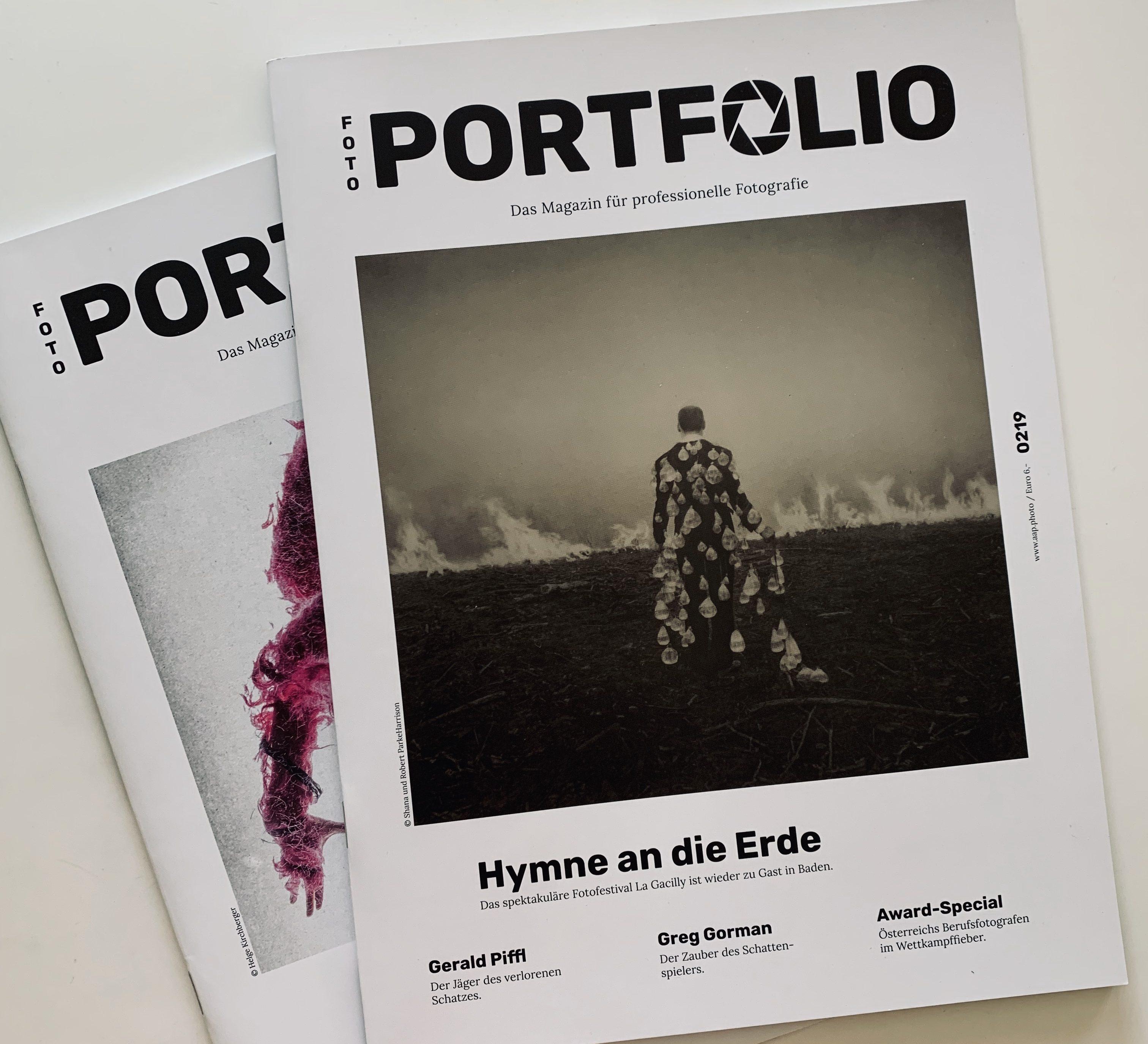 Cover Portfolio Magazin